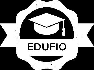 Logo Edufio Putih